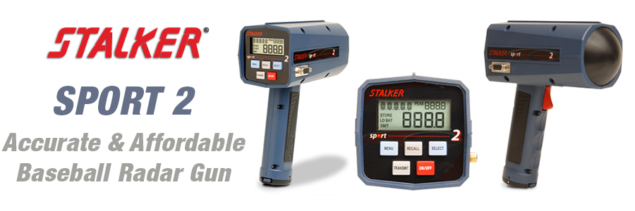 Stalker SPORT 2 Accurate and Affordable Baseball Radar Gun